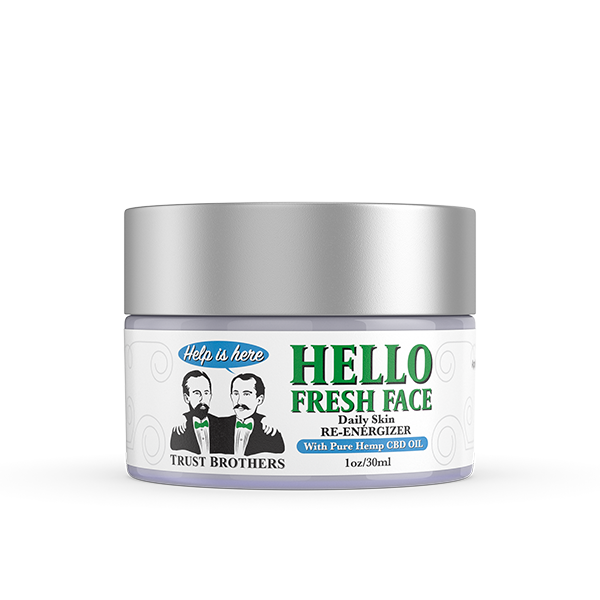 trust brothers cbd, face topical cream
