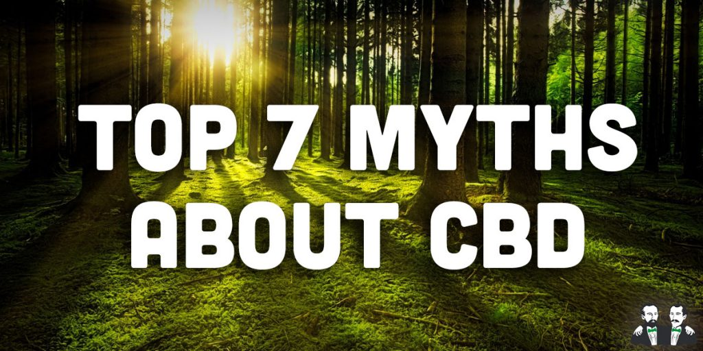 top 7, lists, myths about cbd