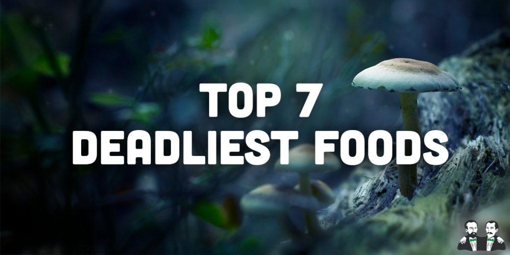 top 7 lists, deadliest foods
