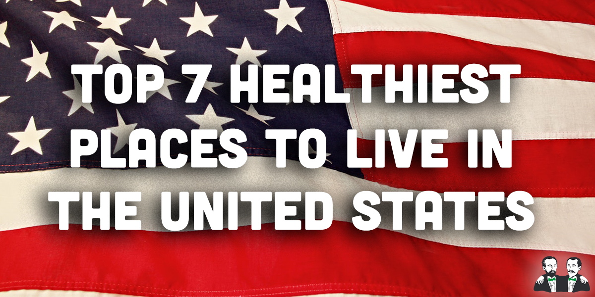 top 7, lists, healthiest places to live in United States
