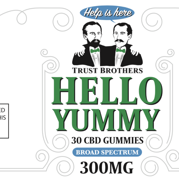 Hello Yummy CBD Gummy Bears 300mg
