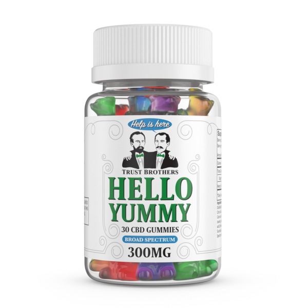B2G1 Hello Yummy CBD Gummy Bears 300mg